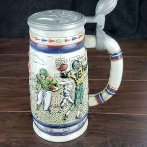Vintage 1983 Avon Football Beer Stein